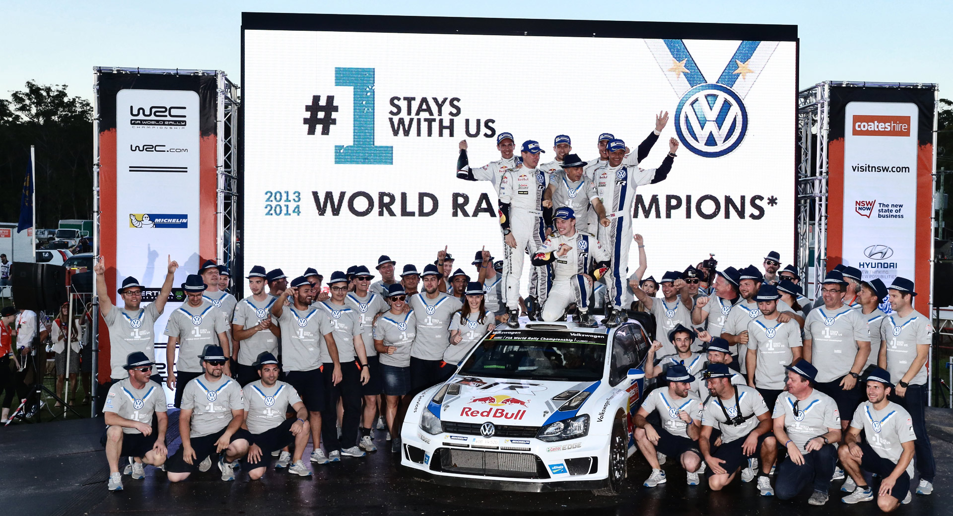 VW Team wrapped up