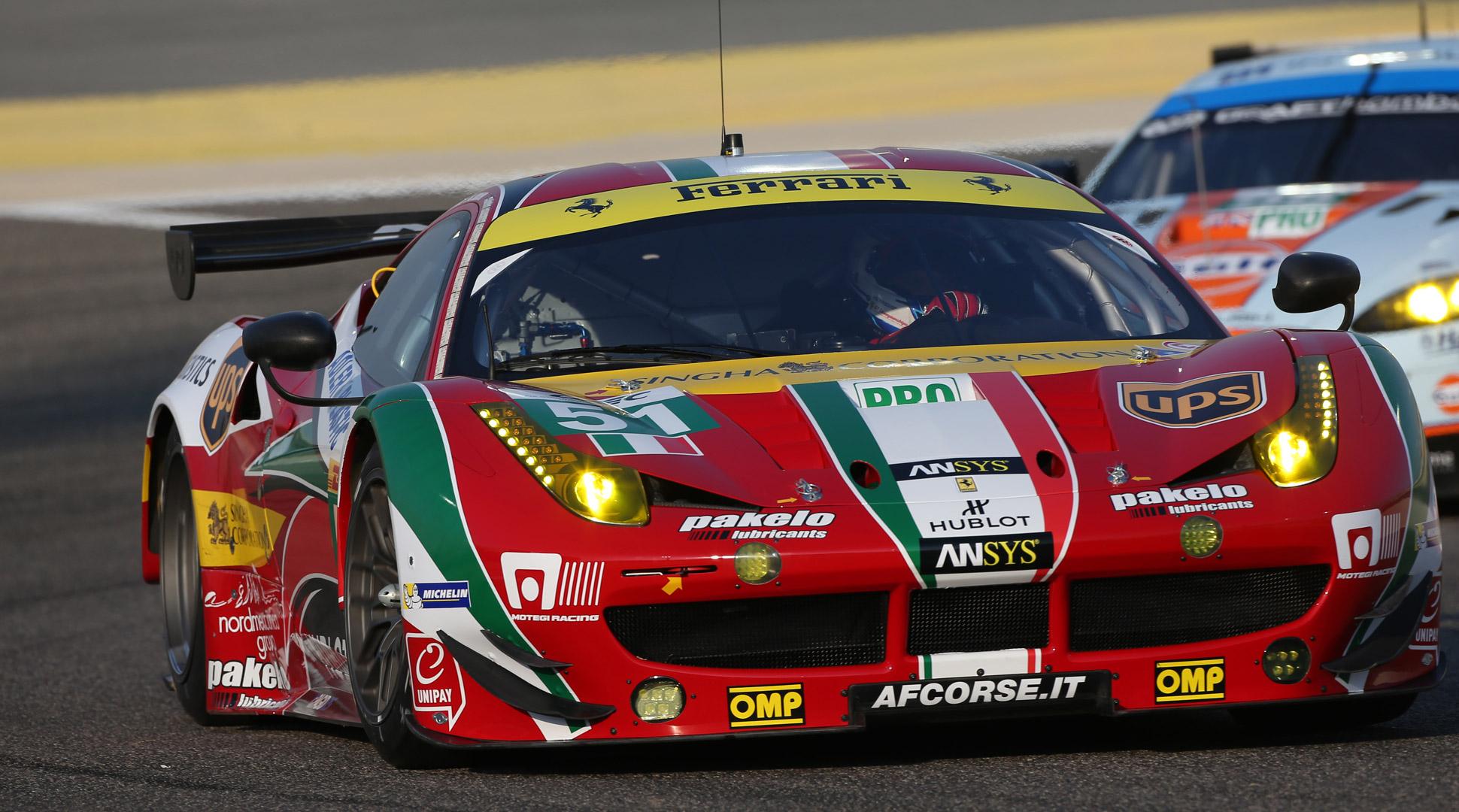 WEC, AF Corse Ferrari's Bruni and Vilander