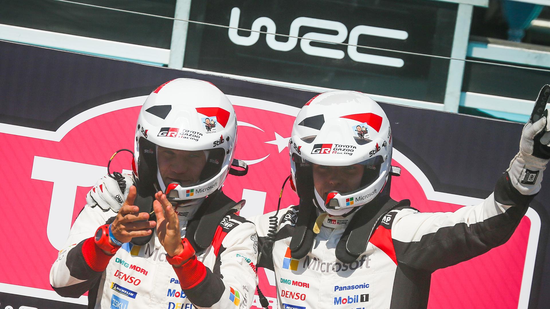 WRC, Toyota