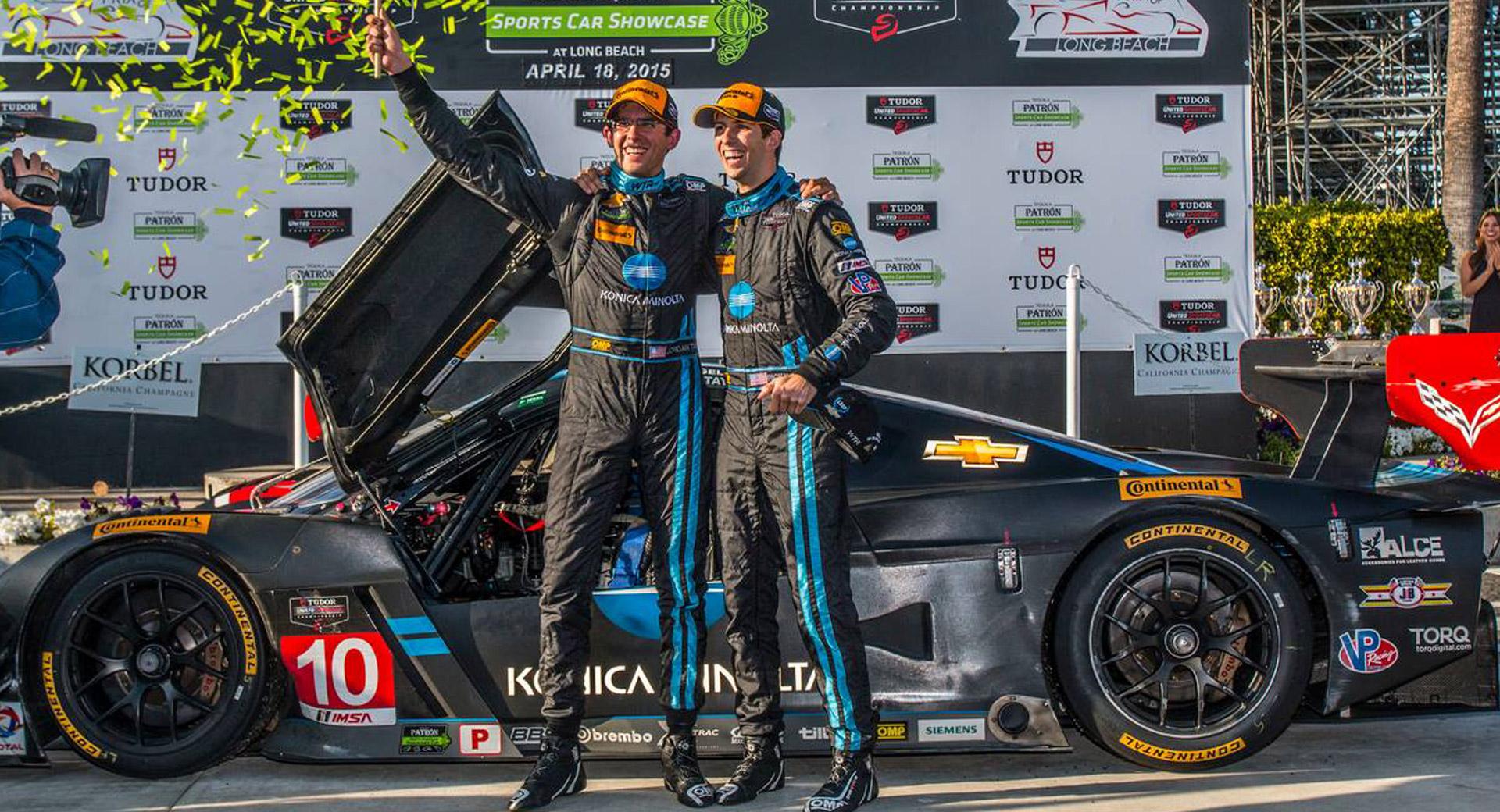 WTR, Corvette DP Scores Victory