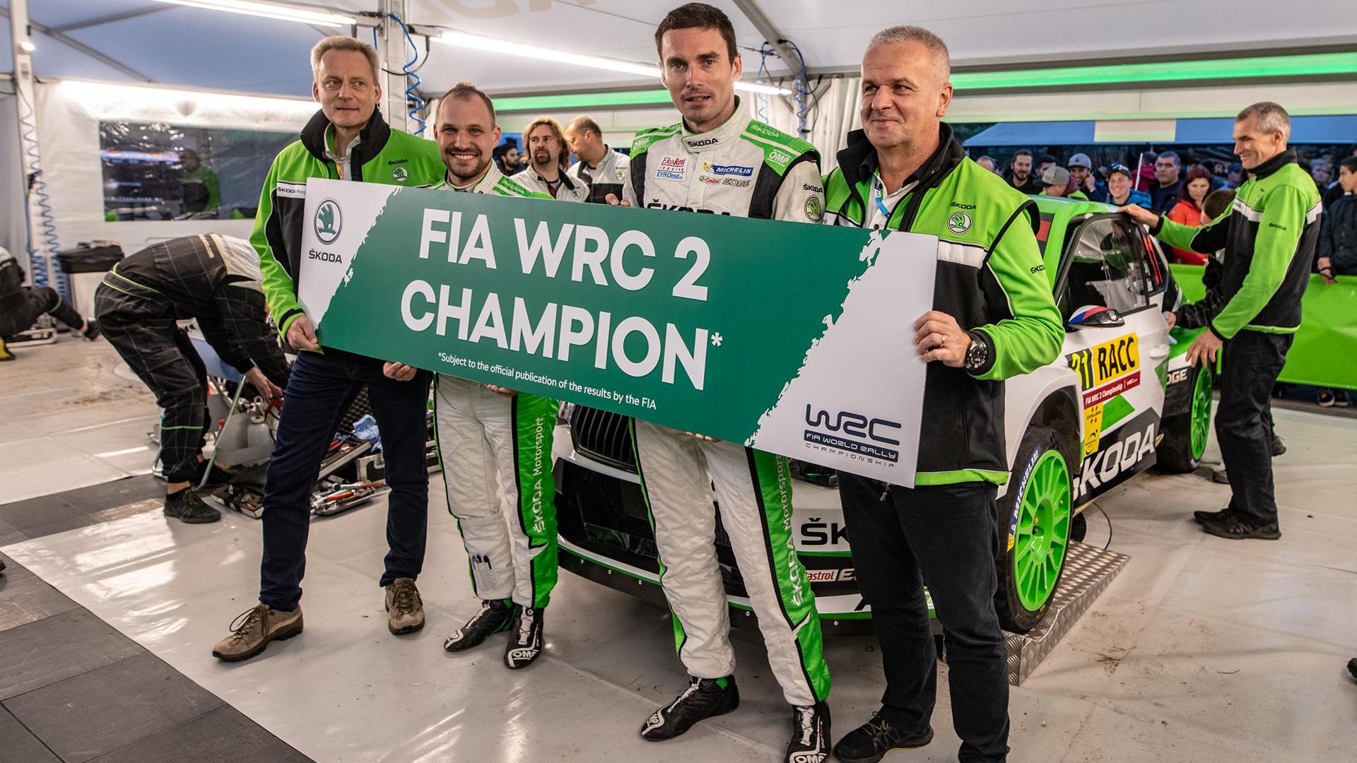 WRC2 - Skoda gets