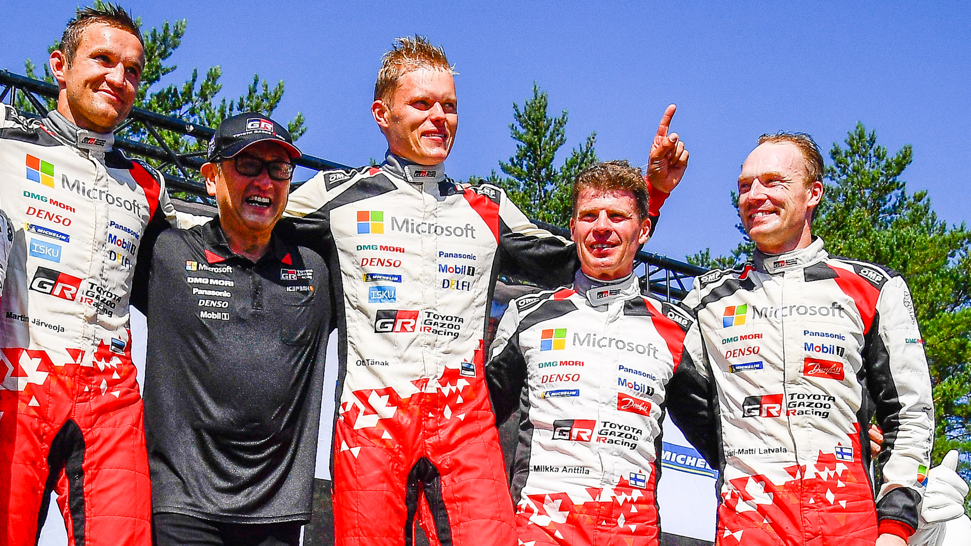 Toyota WRC, kings