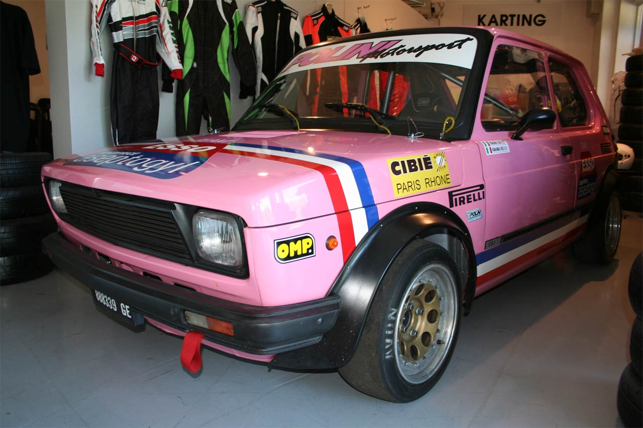 """Fiat 127 """"Pink Panther"""" Polini"""