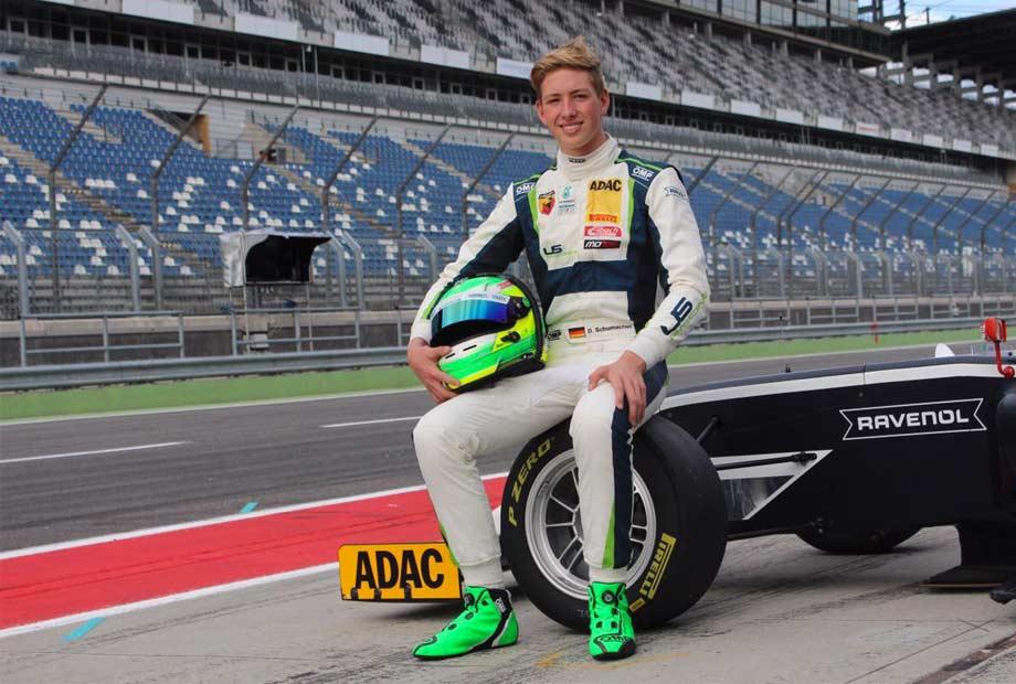 David Schumacher si prepara per la F4