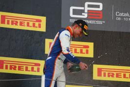 Double podium on GP3 season opener