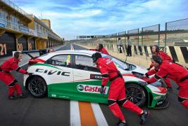 Honda Unleash 'Muscular' New Civic to take on FIA WTCC 2014!