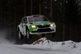 Skoda dominates WRC 2