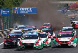 Honda takes double podium at Salzburgring in 2, 3, 4 result!!
