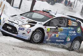 Pontus Tidemand on good pace at Rally Sweden!