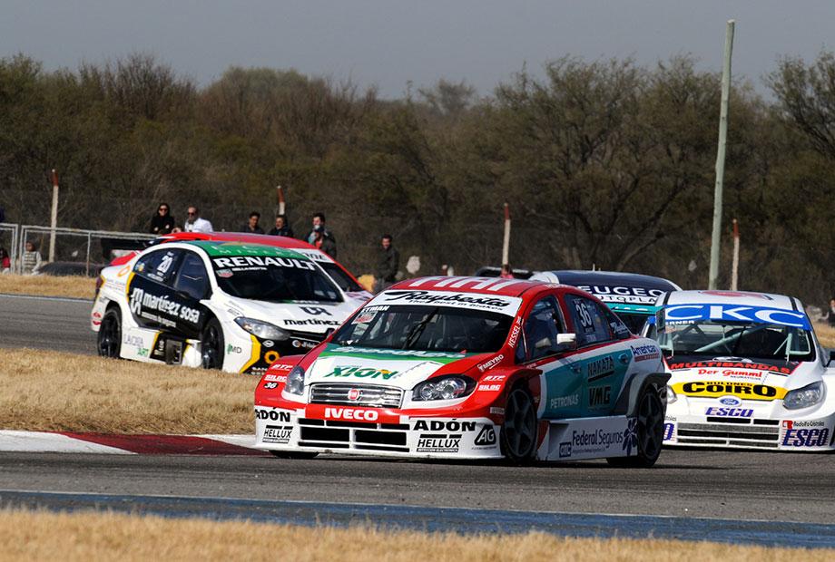 Argentinian podium