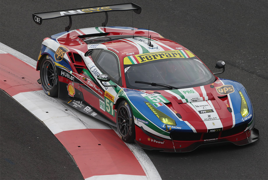 Double wec podium for ferrari
