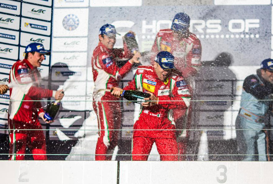 WEC 1-2 finishes for Ferrari in LMGTE Pro!!