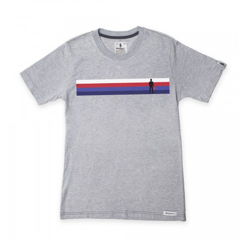 Racing Spirit Stripe Tee