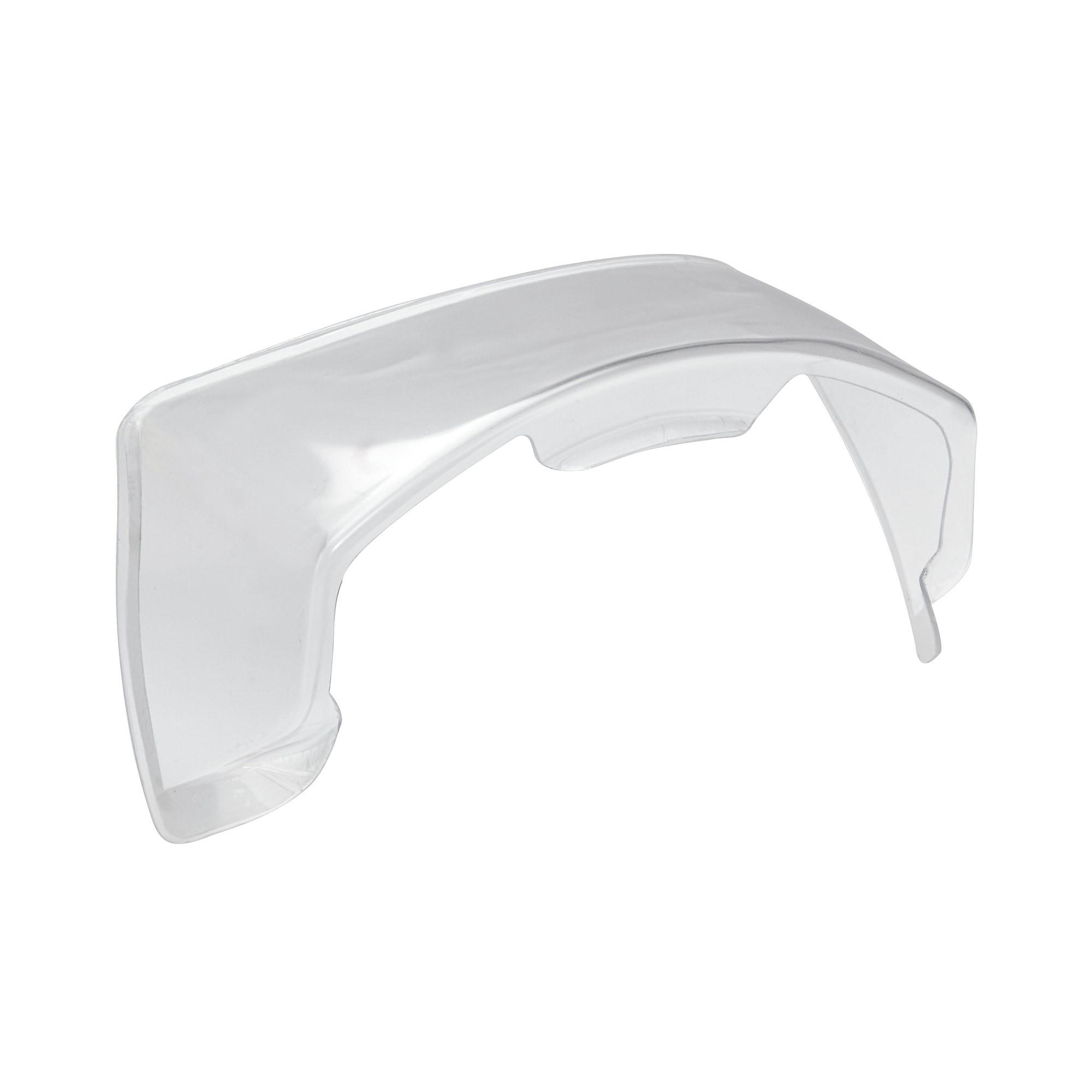 Spoiler posteriore trasparente