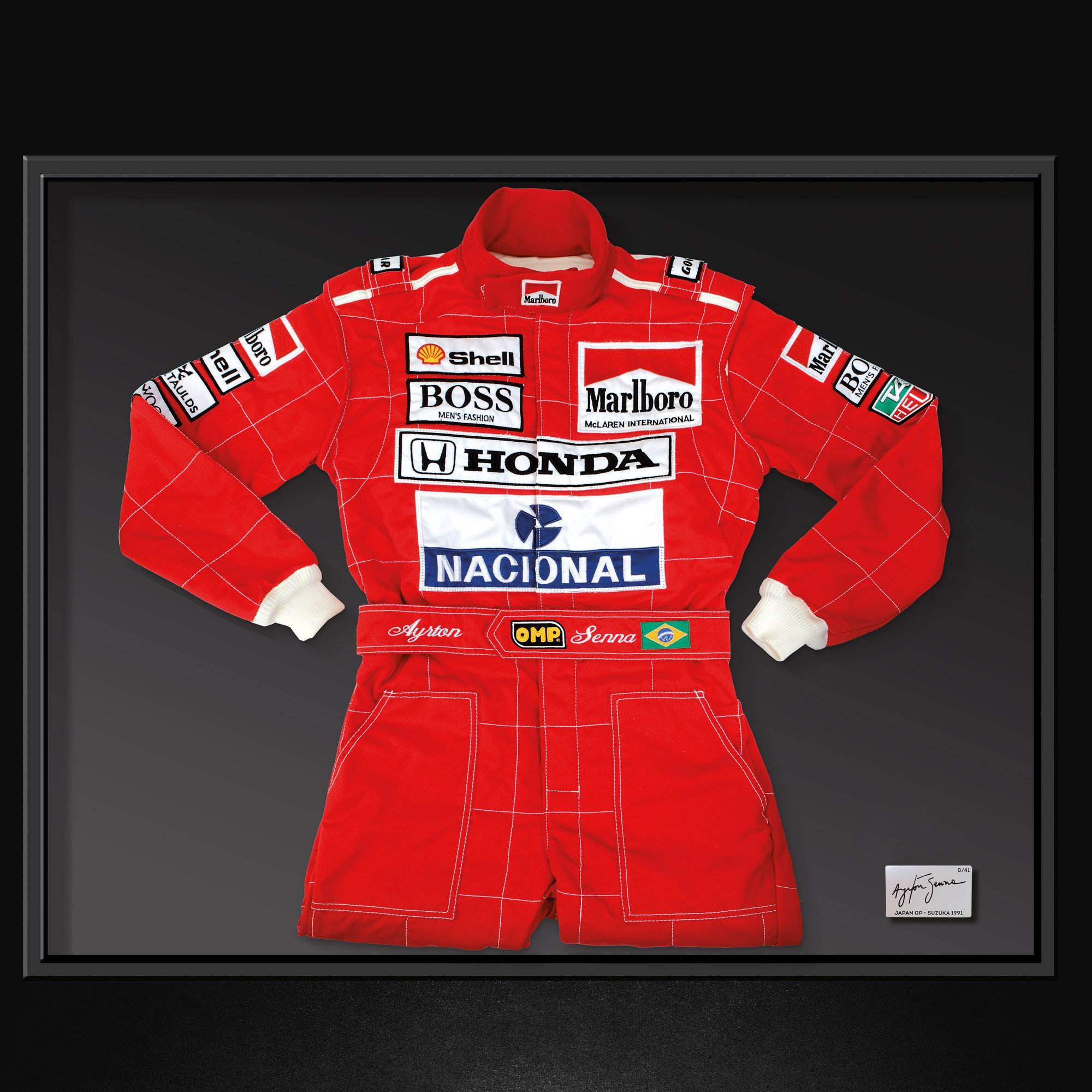 AYRTON SENNA REPLICA SUIT