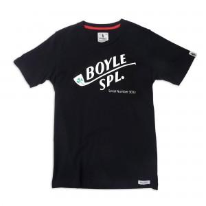 BOYLE SPECIAL TEE - Racing tee - black