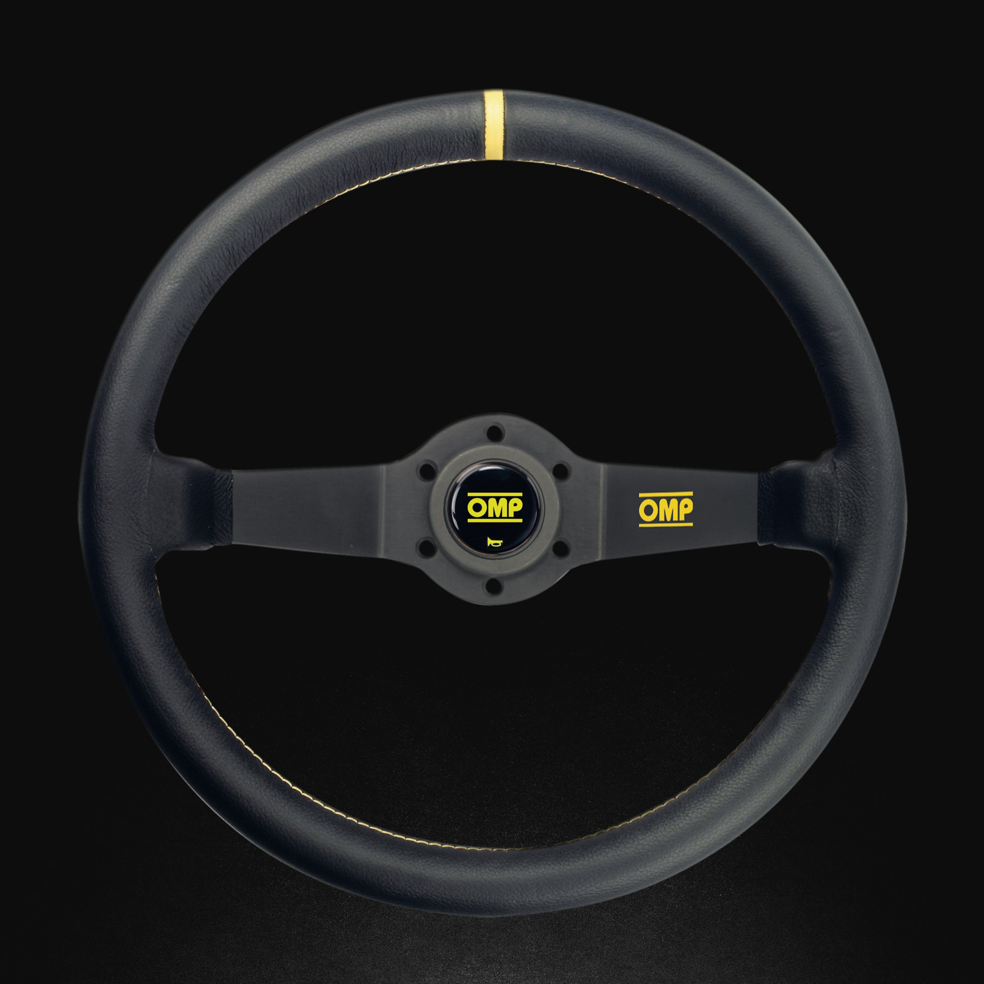 Racing steering wheel - RALLY LISCIO