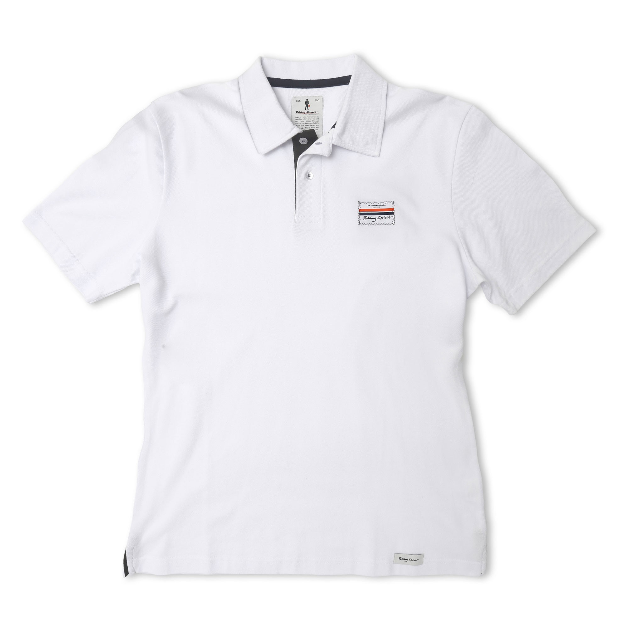 Racing Spirit Patch Polo