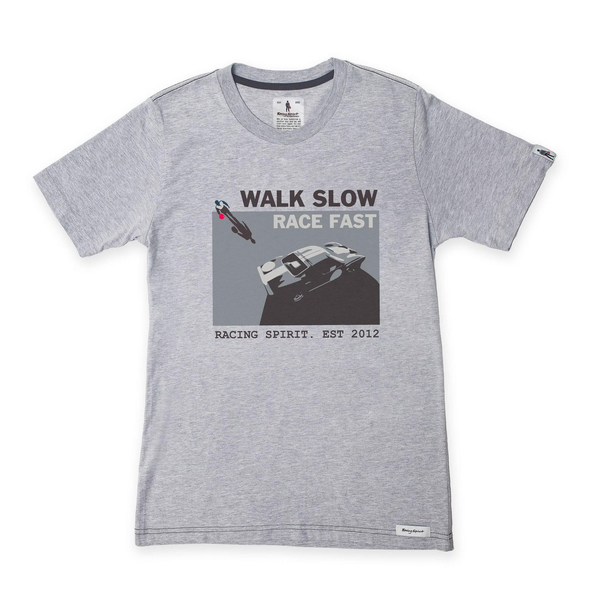 Walk Slow Tee