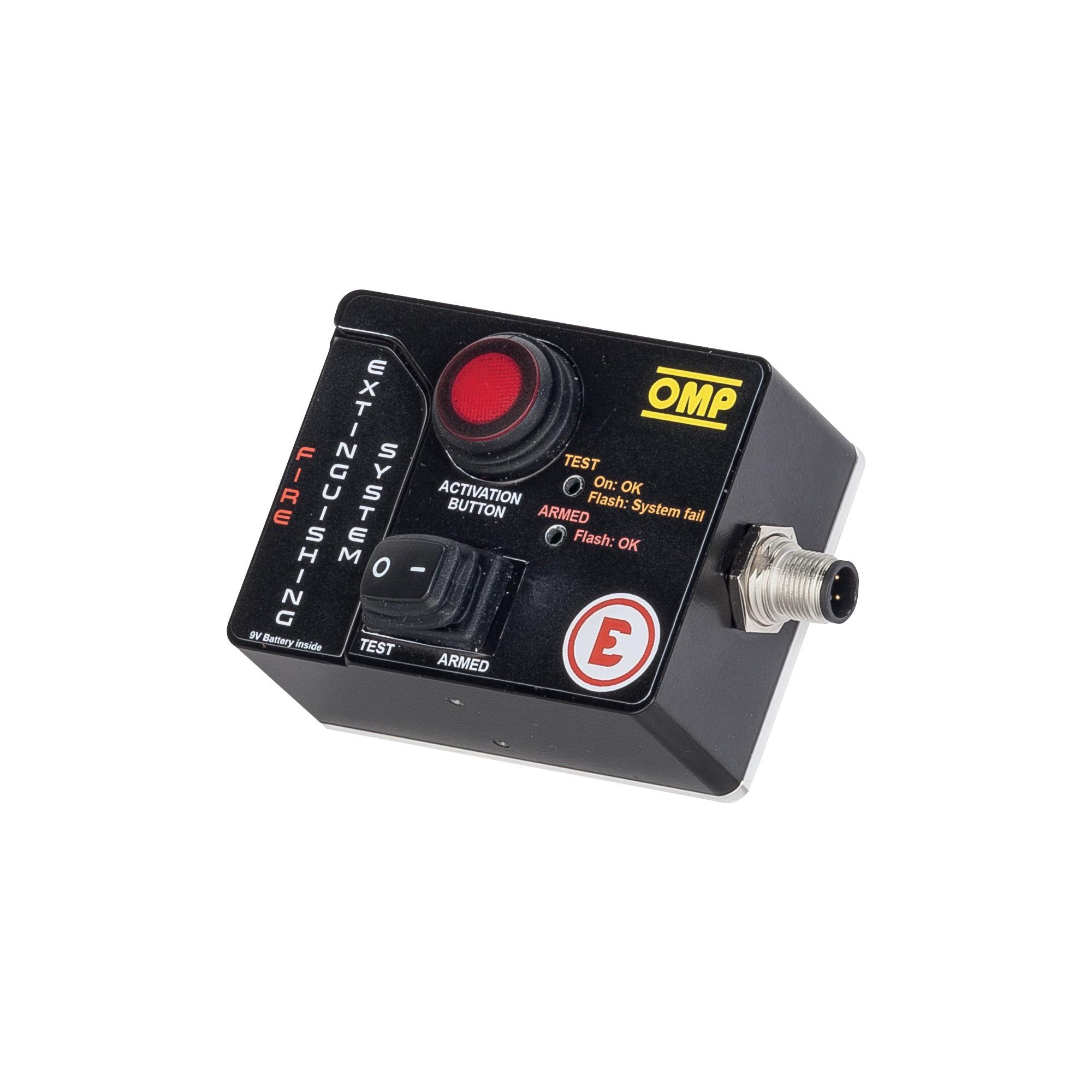 Extinguisher control box - EXTINGUISHER CONTROL BOX