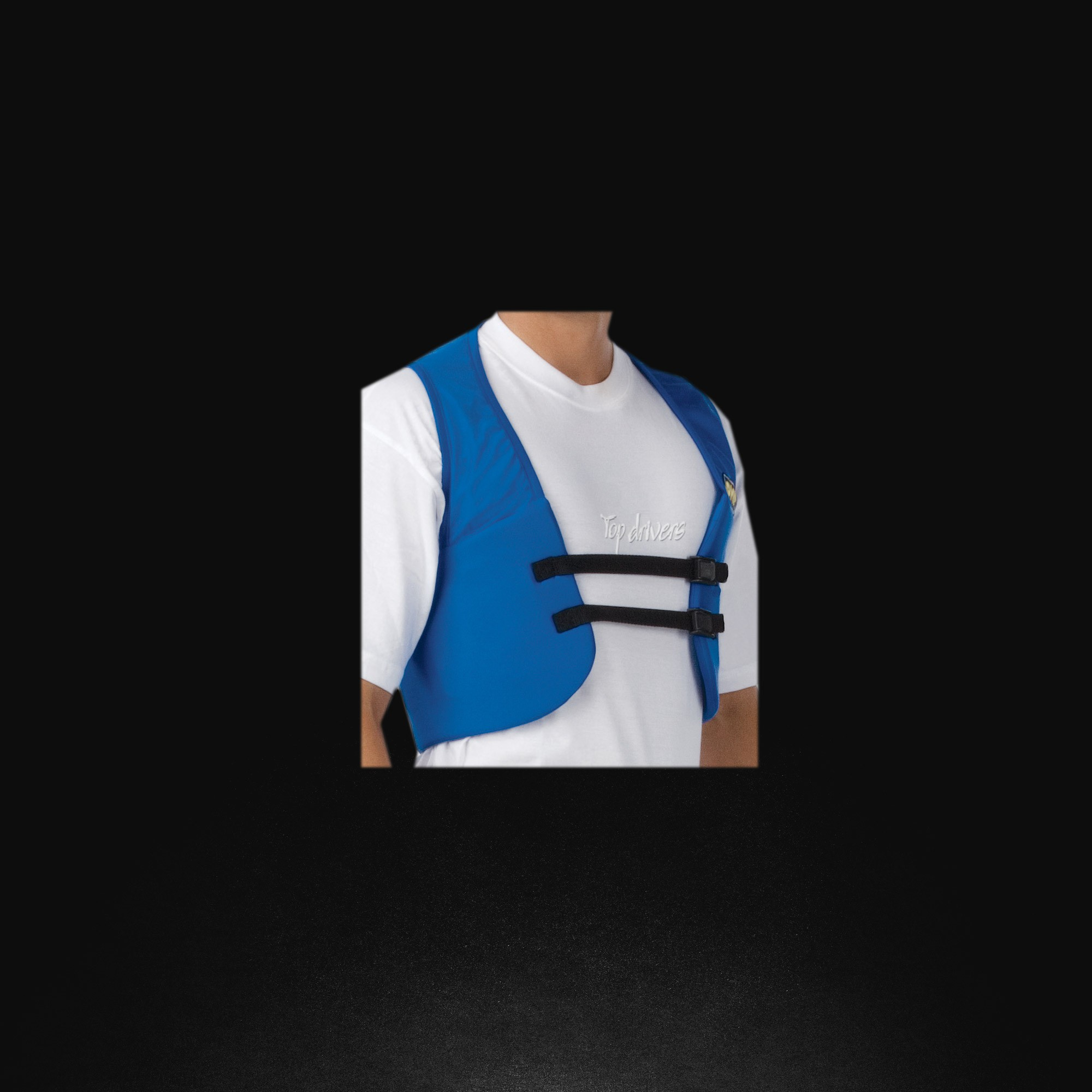 Rib protection waistcoat