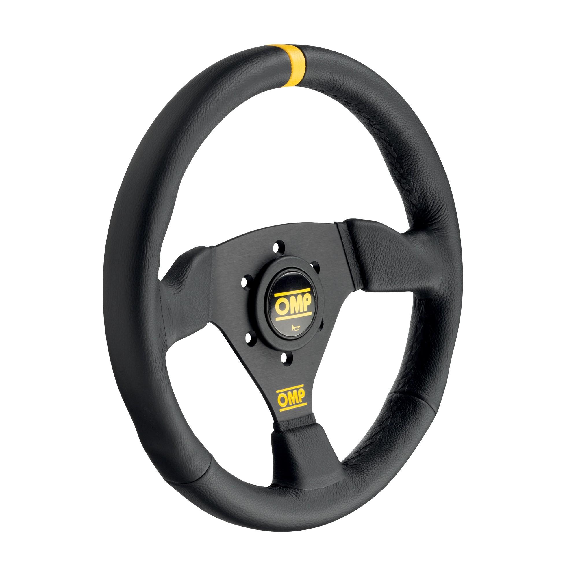 Racing steering wheel - TRECENTO SCAMOSCIATO
