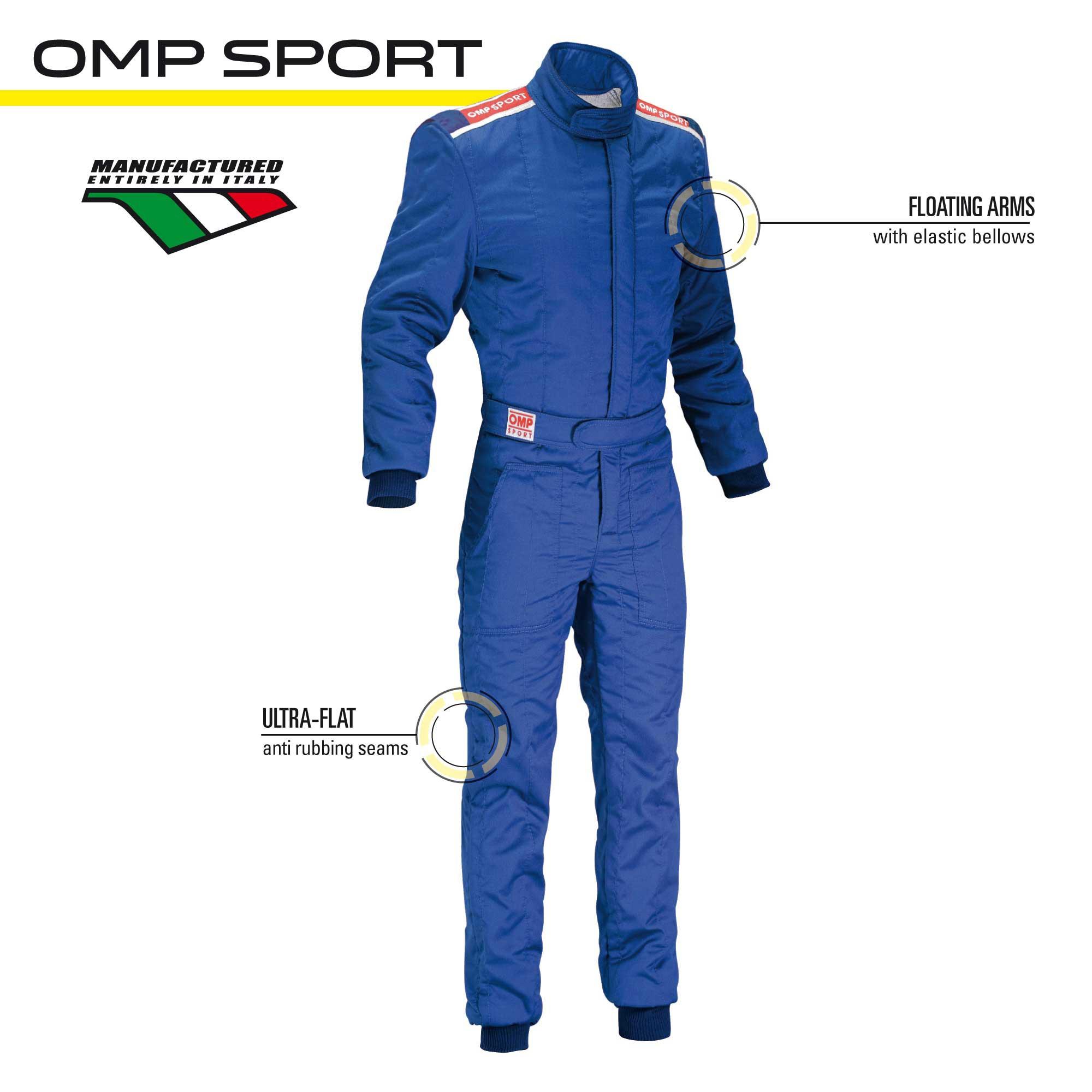 Entry level racing suits - OMP SPORT SUIT