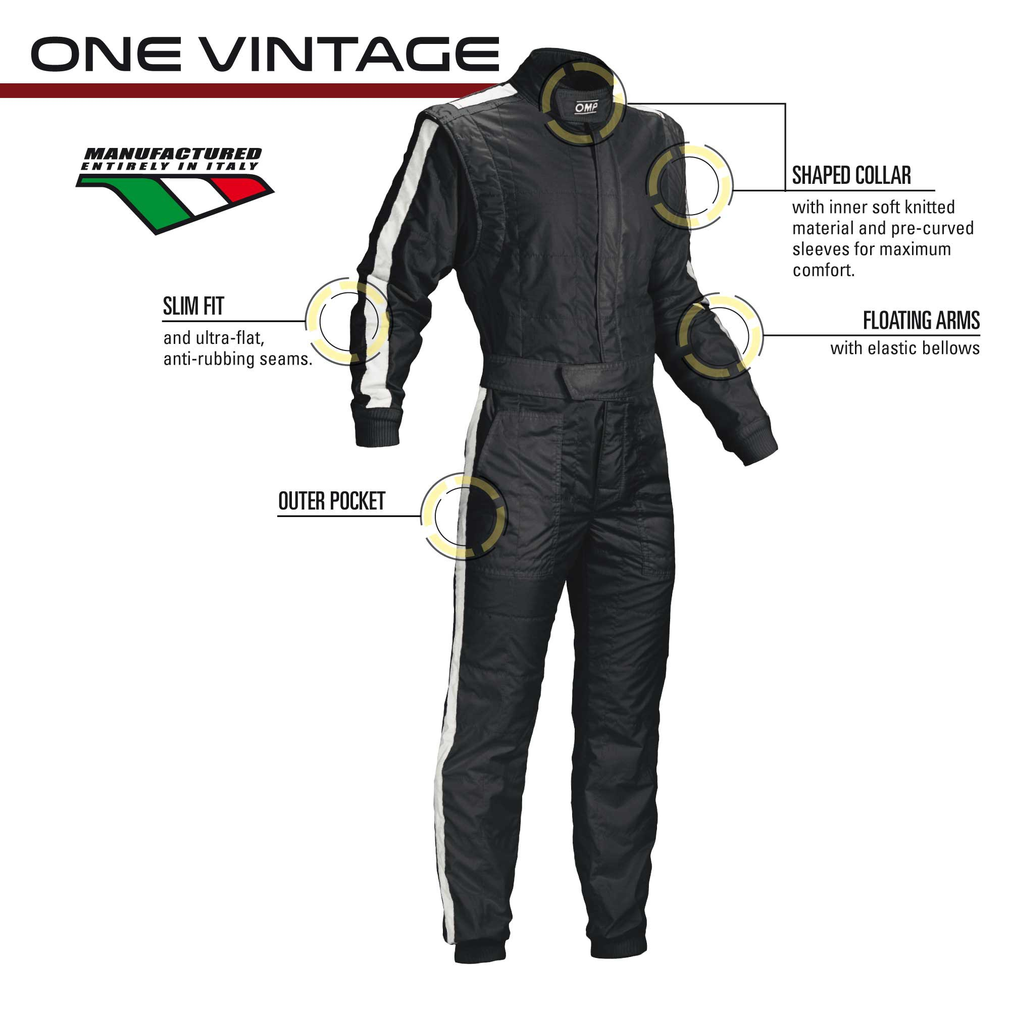 Vintage racing suits 60's style - VINTAGE ONE SUIT