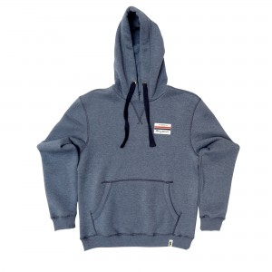 Racing Spirit Patch Hoodie