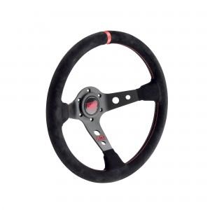 Racing steering wheel - CORSICA SCAMOSCIATO