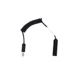 Nexus Male-to-Female Adapter (IMSA  to  Peltor Standard)