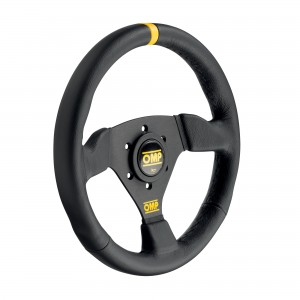 Racing steering wheel - TRECENTO SCAMOSCIATO